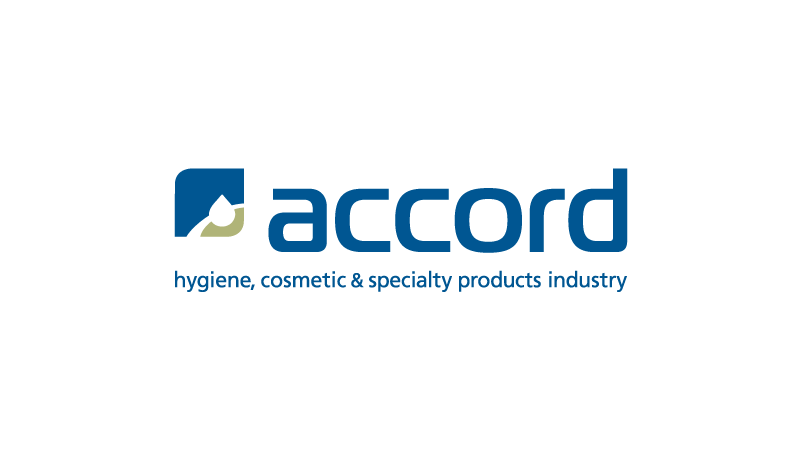 Accord logo - hygiene, cosmetic and speciality products industry